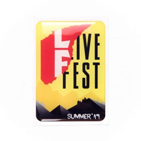 Стикер LiveFest