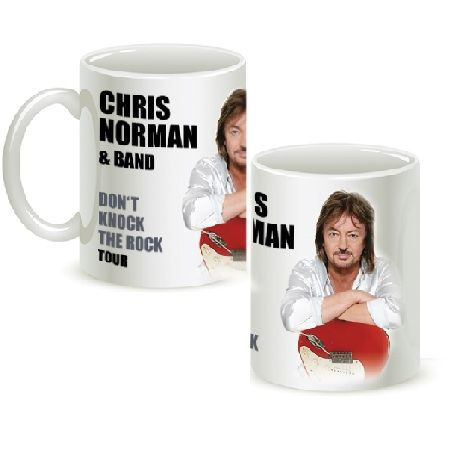 Кружка Chris Norman белая