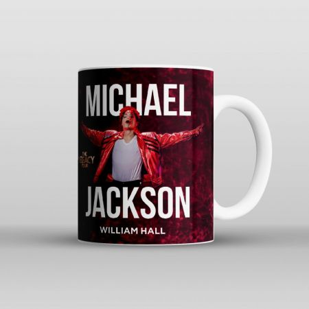 "Кружка ""Michael Jackson. The legacy tour"""