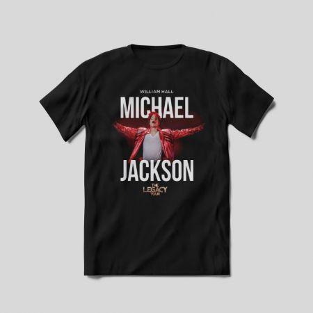 "Футболка ""Michael Jackson. The legacy tour"""