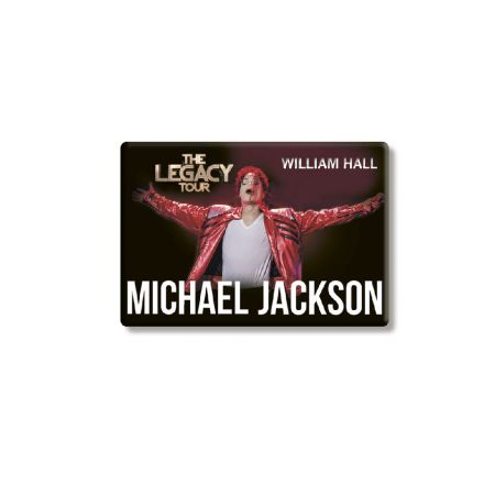 "Магнит ""Michael Jackson. The Legacy Tour"""